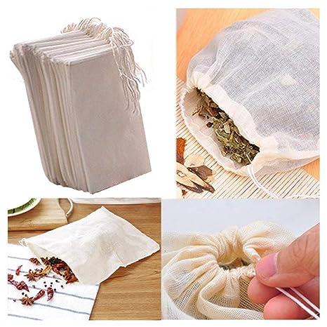 Amazon.com: Gdeal - Bolsas de muselina de algodón ...