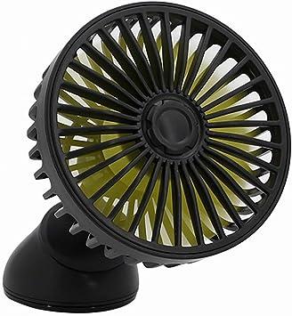 DAWWFV Coche Ventilador eléctrico Ventilador, Ventilador Ajustable ...