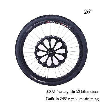 CBPE Hub Motor E-Bike Kit De Conversión Kit De Conversión De Bicicleta Eléctrica Neumático, 5.8 Ah Conducción Continua 60 Km, Freno De Disco, 36V 250W: Amazon.es: Deportes y aire libre