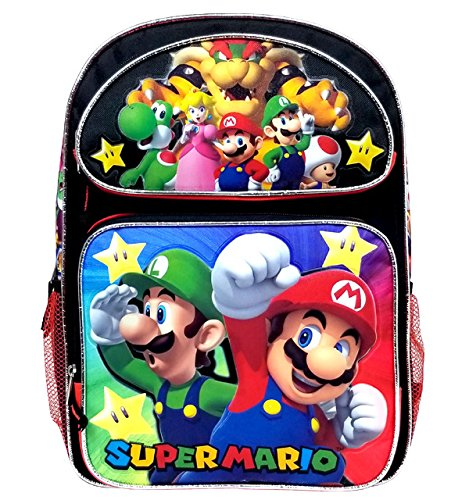 Super Mario Large Backpack -