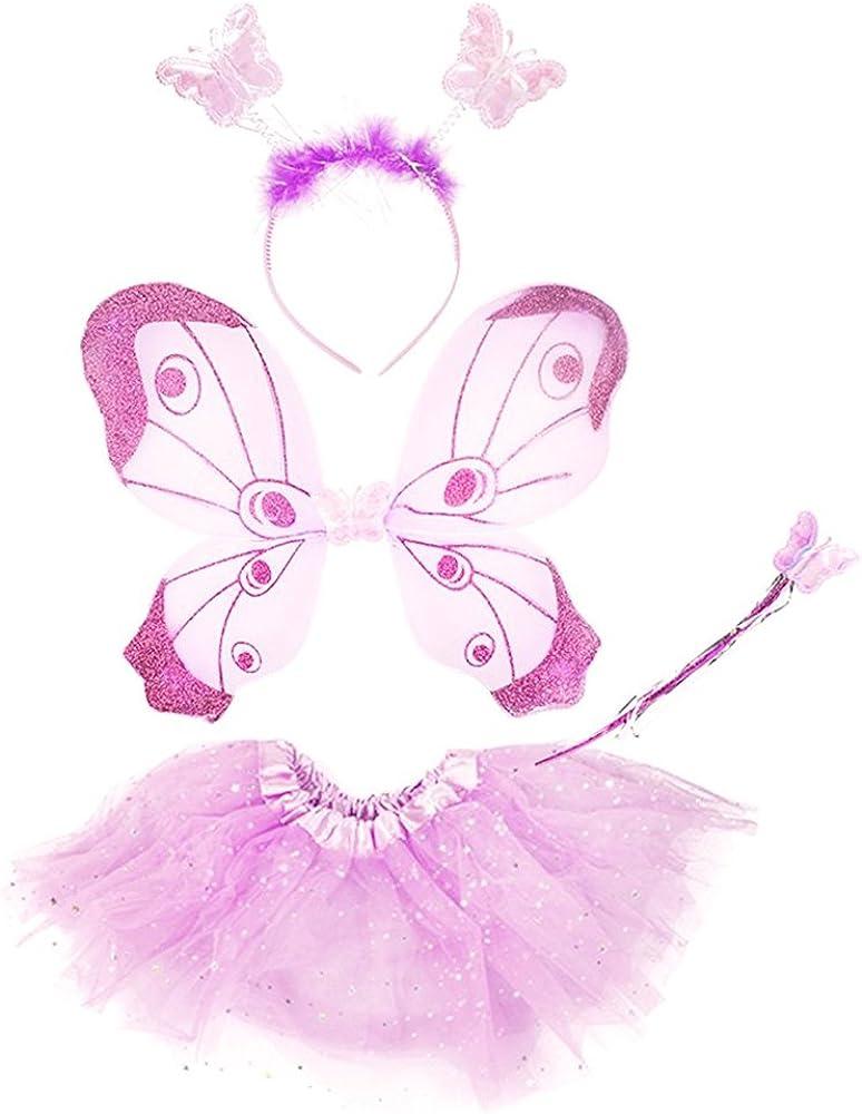 fascia e bacchetta magiche abbinate com-four/® ali di farfalla con gonna