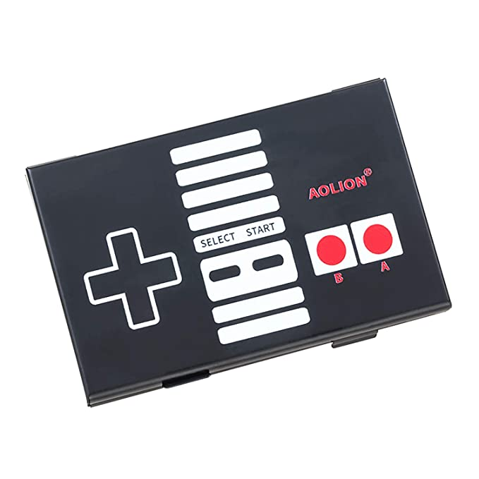 OLCLSS Game Cards Case for Nintendo Switch Suitable for Micro SD Nintendo Switch Cards Made by Thin Aluminum Game Storage Card Holder Box 10 in 1 ...