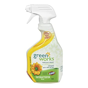 Green Works Bathroom Cleaner Spray, 709 ML
