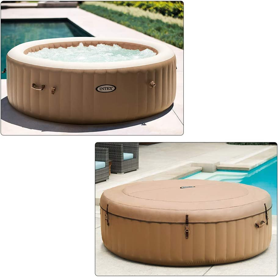 Intex 28428EX - Spa hinchable Burbujas 6 personas, 1098 Litros ...
