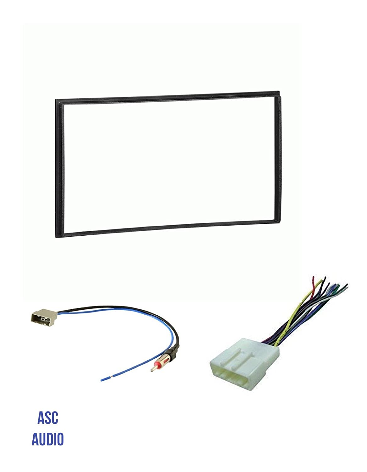 and Antenna Adapter for installing a Double Din Aftermarket Radio for select Nissan Vehicle guide listed below Other ASC Car Stereo Install Dash Kit Wire Harness