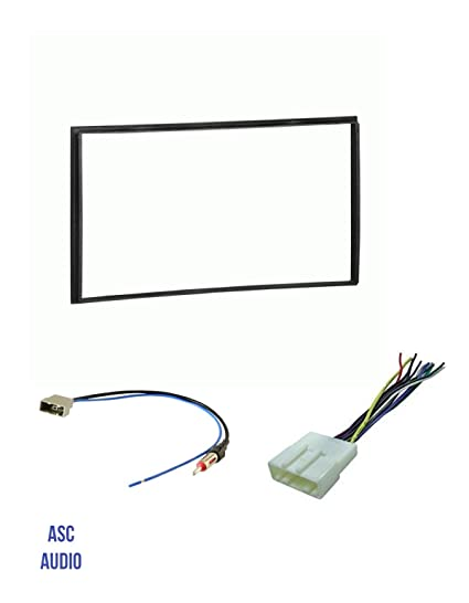 Amazon.com: ASC Car Stereo Install Dash Kit, Wire Harness ... on