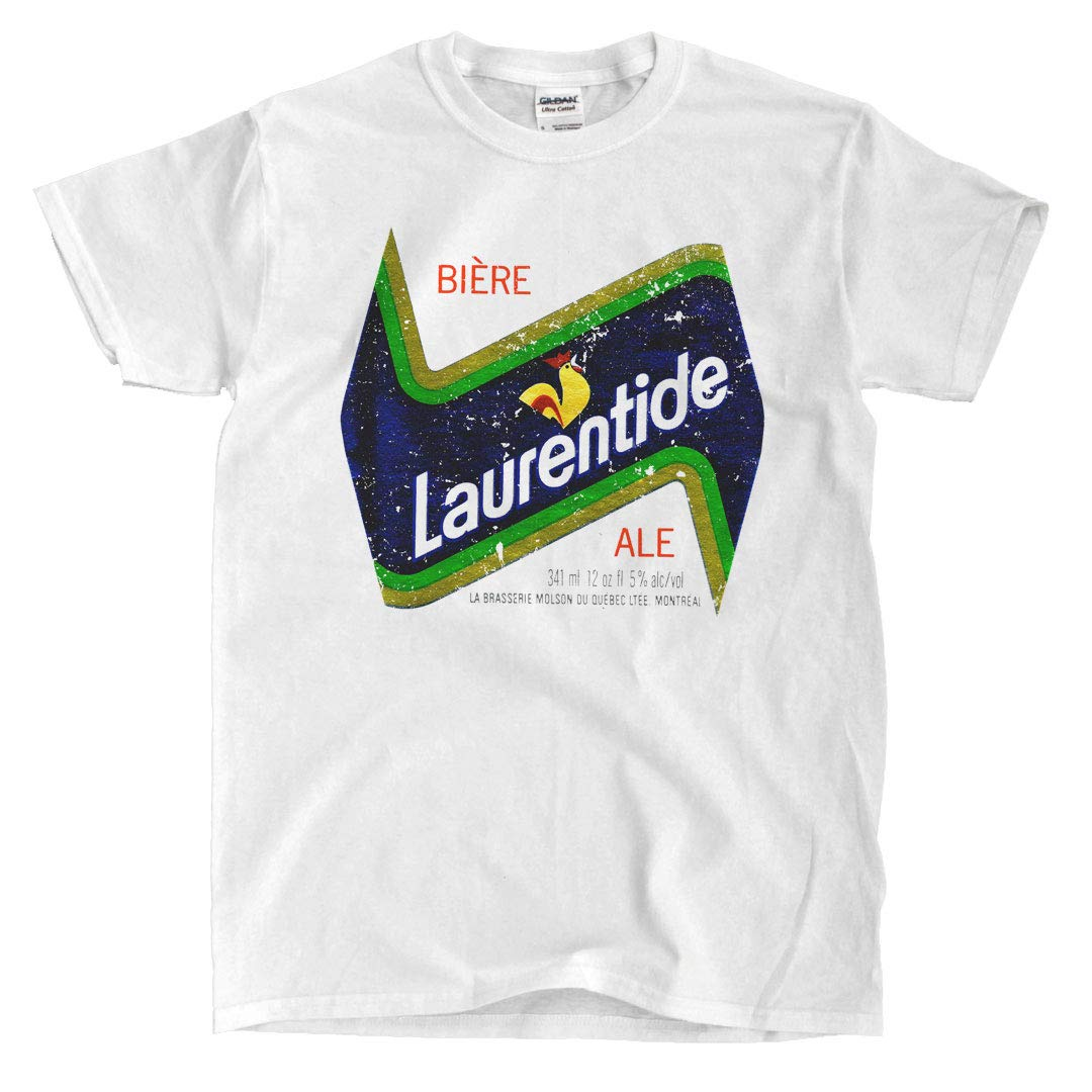 Laurentide Label Vintage Look White Shirt