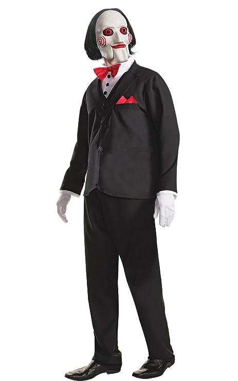 Travestimenti Halloween Uomo.Rubie S Ufficiale Adulti Seghetto Travestimento Horror Movie Puppet