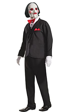 amazoncom rubies mens saw billy costume and mask toys games