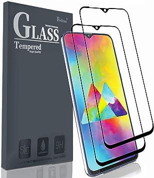 Ferilinso Cristal Templado para Samsung Galaxy M20, [2 pcs ...