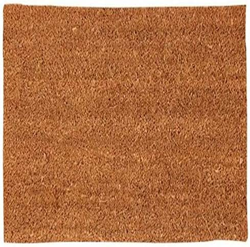 Nach Plain Coir Doormat with Rubber Backing