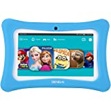 Kids Tablet,7 Inch Tablet PC Andriod 7.1 with 1GB RAM 8GB ROM and WiFi, Kids Software iWawa Pre-Installed(Blue)