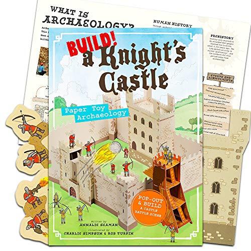 (Build! A Knight's Castle: Archaeology Paper Toy 3D Castle)