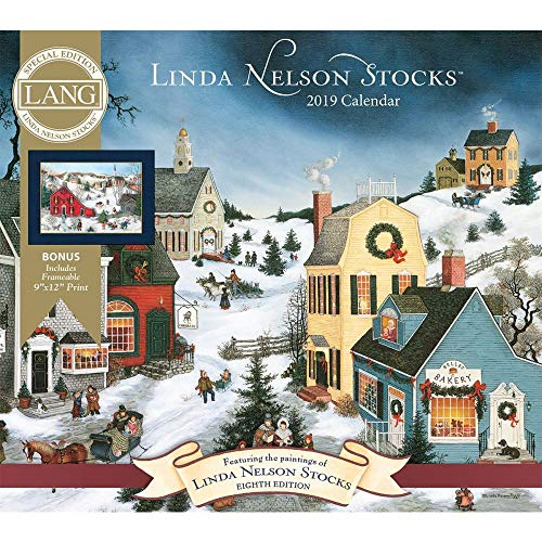 2019 Nelson Stocks Special Edition Wall Calendar, Linda Nelson Stocks by Wells S