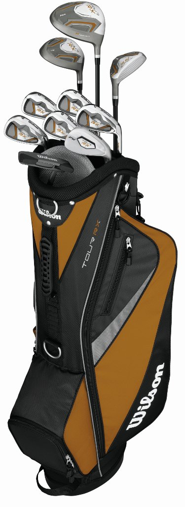 Wilson Tour Rx Senior Package Set Mens Senior Right Hand mens golf complete sets