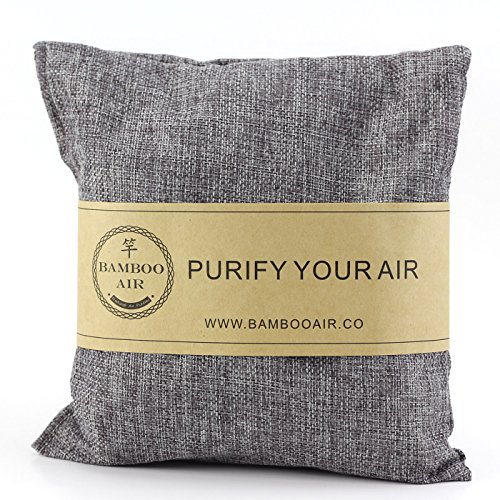 500g Bamboo Charcoal Air Purifying Bag, Natural Air Freshener Odor Absorber Eliminator & Deodorizer Removes Moisture, Allergens in Your Bathroom, Kitchen, Car, RV, Closet By Bamboo - Sachet Accessories Bags