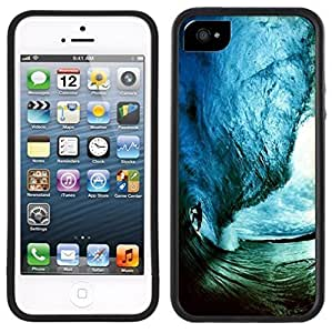 Surf Surfer Surfing Wave Handmade iPhone 5 5S Black Case