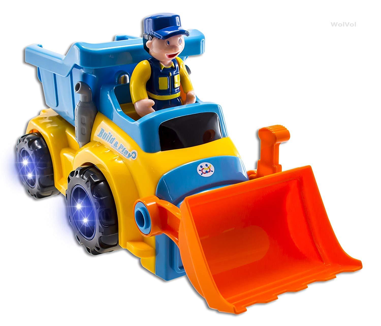 【お1人様1点限り】 [construction drill bulldozer dump with excavator toy with drill and tool][parallel excavator imports] B07P5XJZK3, カウくる:22a4141f --- mrplusfm.net
