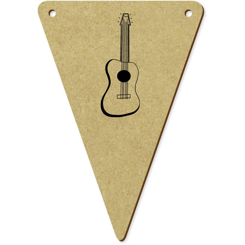 Azeeda 5 x 100mm Guitarra Acustica Banderines / Banderas ...