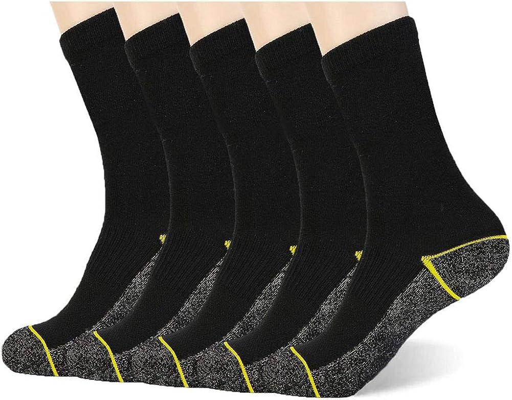 Cobre calcetines antibacterianos atl/éticos para hombres y mujeres-humedad Wicking antideslizamiento calcetines tobillo