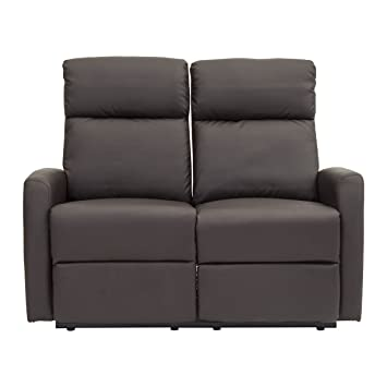 Sofá reclinable de dos puestos Modelo Divano Helsinki ...