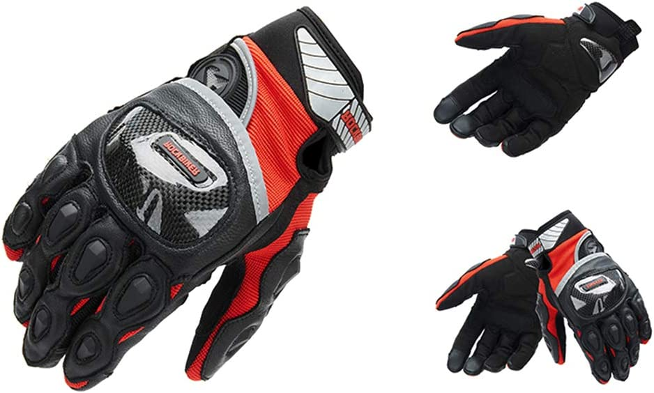 Hiking(Black,S) Climbing ATV Riding Men Outdoor Motorbike Waterproof Gloves Motorcycle Full Finger Touch Screen Racing Motocross Gloves for Cycling