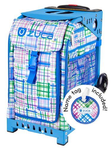 Zuca Berry Patch ice skating roller bag - choose your frame color! (blue frame) by ZUCA