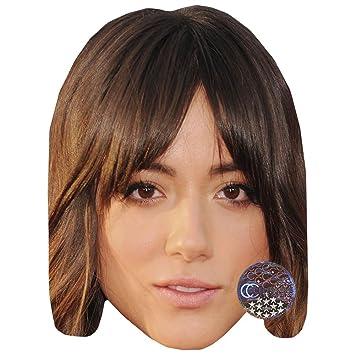 Card Face and Fancy Dress Mask Brendan Cole Celebrity Mask