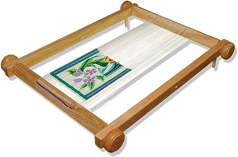 20-Inch Hardwood Lacis Kliot Tapestry Loom