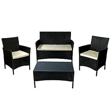 Excellent Sunnydaze Adelaide Patio Furniture Set 4 Piece Outdoor Interior Design Ideas Gentotryabchikinfo