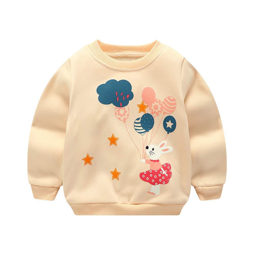 TheRang Children Kids Boy Cartoon Car Letter Print Warm Tops Sweatshirt Pullover Clothes
