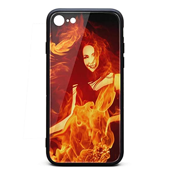 Amazoncom Best Iphone 6s Case Flames Red Orange Fire