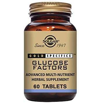 Solgar Gold Specifics Glucose Factors Comprimidos - Envase de 60 ...