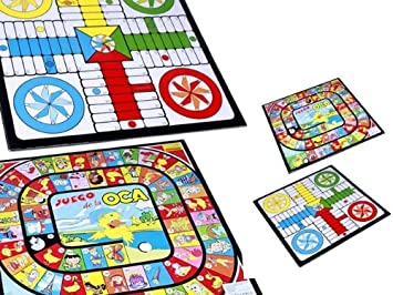 TABLERO CARTON PARCHIS OCA 34 x 34 CM.: Amazon.es: Juguetes y juegos