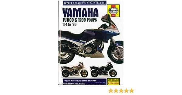yamaha fj1100 1991 repair service manual