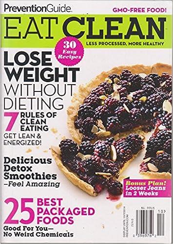 Prevention Guide Eat Clean Magazine 2014: Amazon com: Books