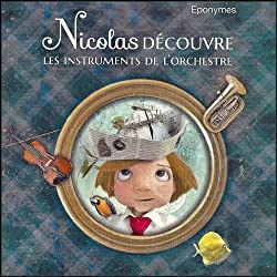 Nicolas découvre les instruments de l'orchestre