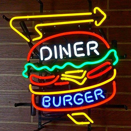 Diner Burger Neon Sign 24