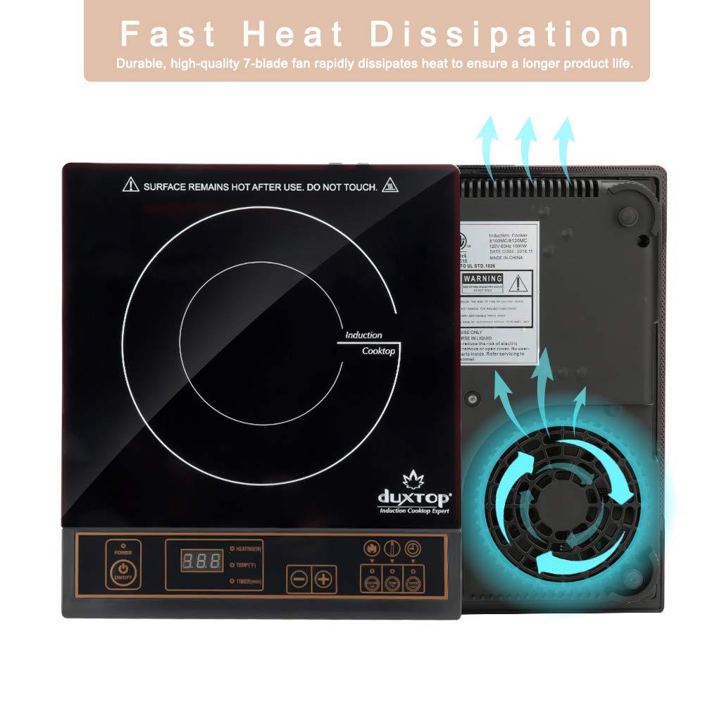 Amazon.com: Duxtop. Calentador de comida de inducción ...