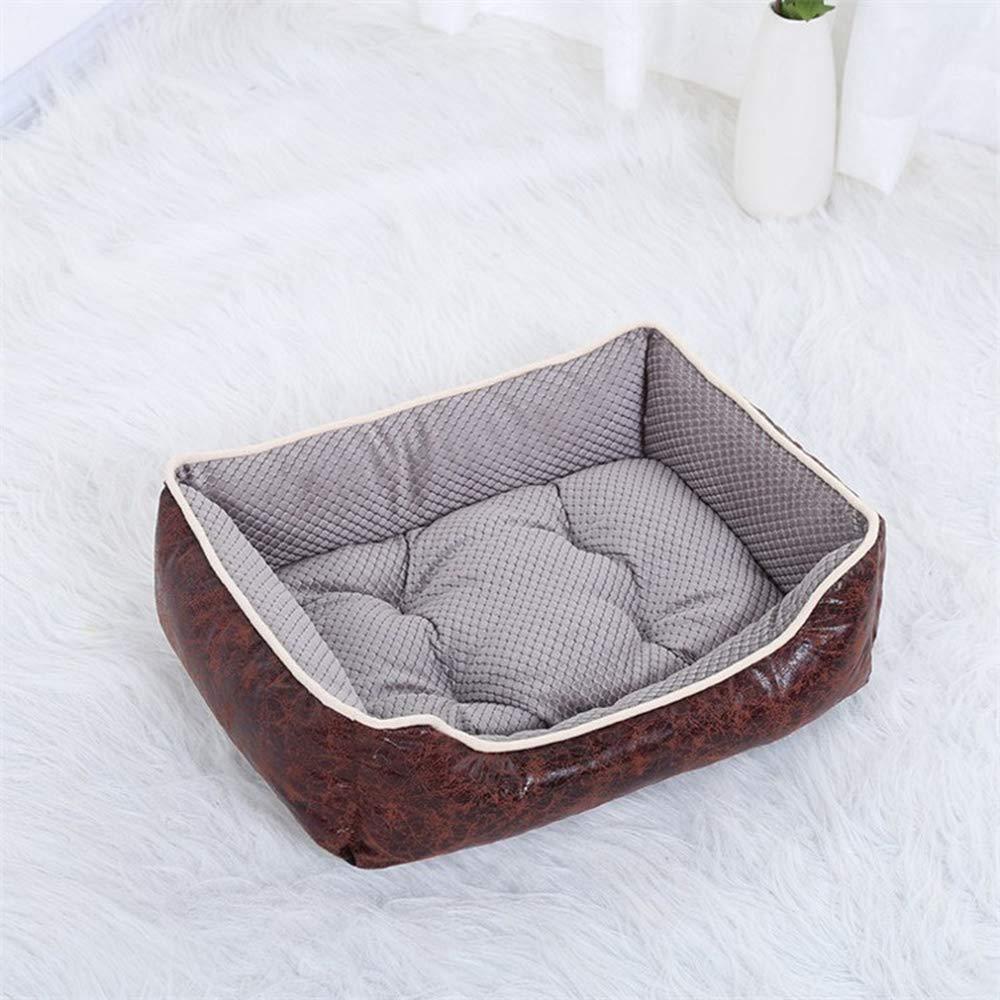 Light Grey XL Light Grey XL Pet Dog Bed Puppy Cats Basket Husky golden Retriever Labrador Cushion Mat Detachable and Washable