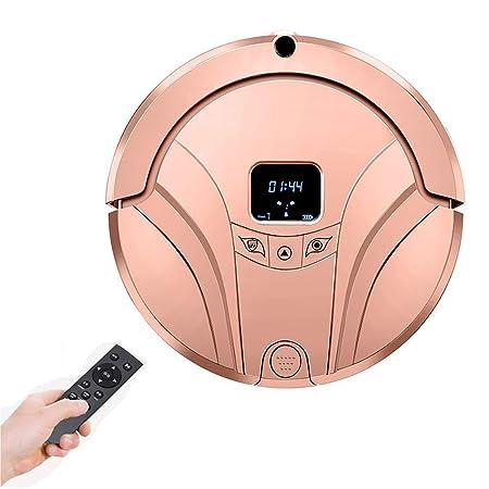 CWHALE Robot Aspirador con Control Remoto, Tanque de Agua seco y ...