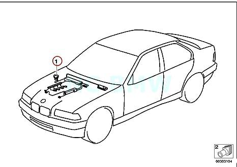 Amazon Com Bmw Genuine Wiring Adapter Backup Light Switch Automotive