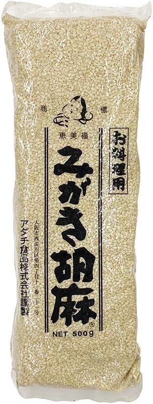 アダチ食品 みがき胡麻(白)500g