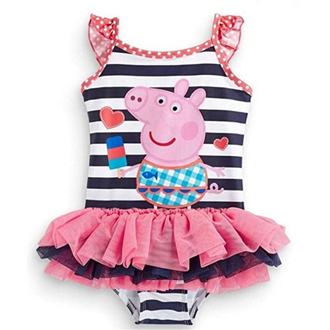 d5dd216920 Image Unavailable. Image not available for. Color  Meteora Girls Summer Peppa  Pig ...