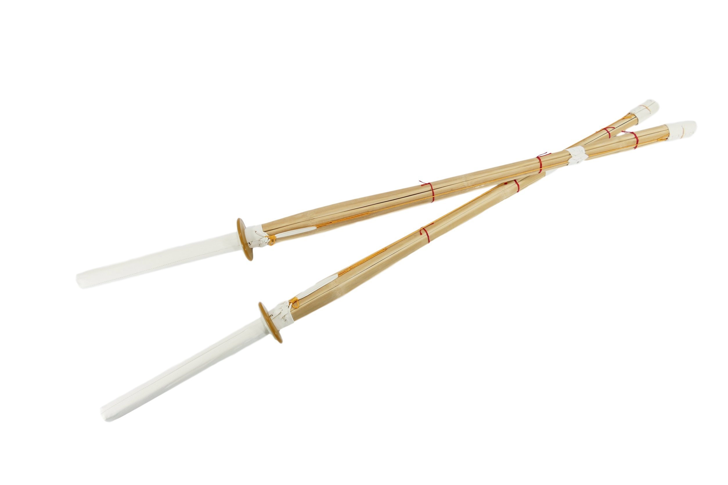 44'' Shinai Bamboo Swords for Kendo Practice & Competition - Pair of 2 by MAKOTO