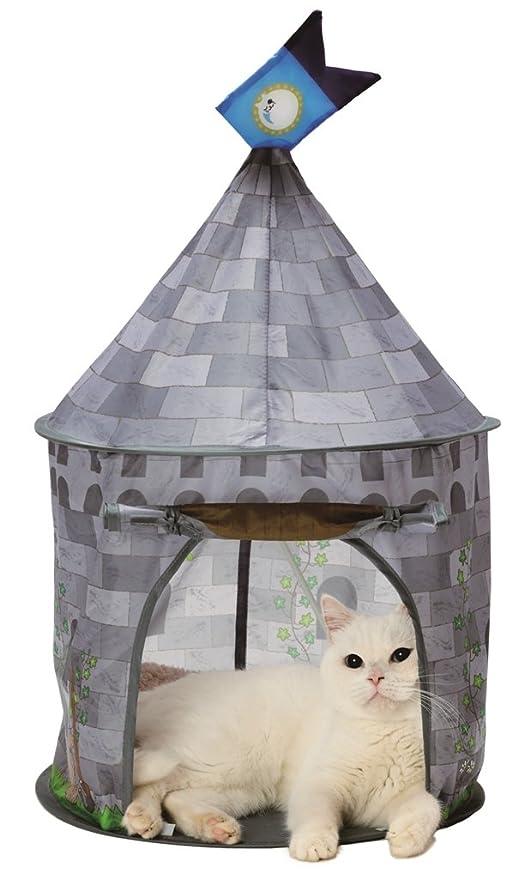 Amazon.com: Tienda para gato (castillo mañanero) Necoichi ...