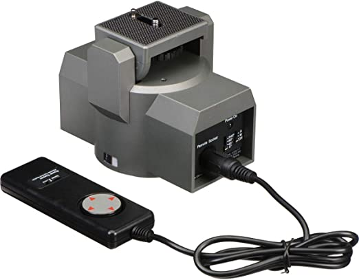 Bescor Motorized Pan /& Tilt Head with Power Supply and Extension Cord Kit