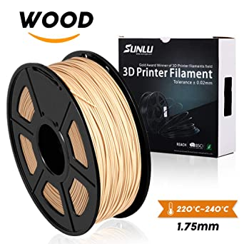 SUNLU Wood Filament