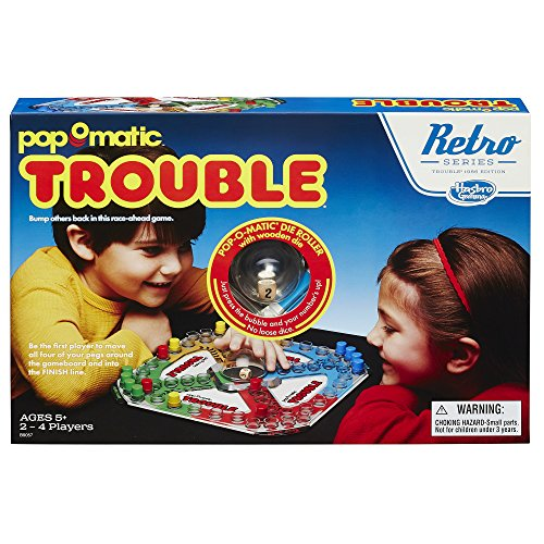 Trouble Game: Retro Series 1986 (Pop Edition Game)