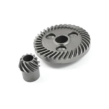 Engranaje cónico espiral de metal fijada para gws bosch 6-100 amoladora angular
